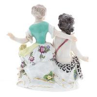 Meissen Porcelain Group of Two Young Figures (5 of 6)