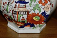 19th Century Real Stone China Jug with Chinoiserie Decoration (10 of 11)