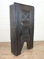 Unusual Antique Carved Side Cupboard (9 of 11)