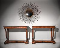 Pair Of Early 19th Century Italian Walnut And Marble Top Console Tables (10 of 10)