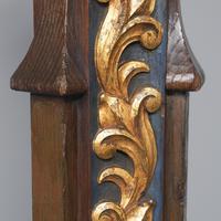 Pair of Gothic Revival Oak Standard Lamps (7 of 12)