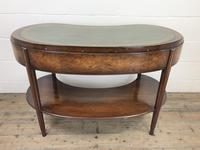 Kidney Shaped Writing Desk with Leather Top (9 of 9)