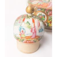 19th Century Cantonese Femille Rose Large Tea Pot (12 of 12)
