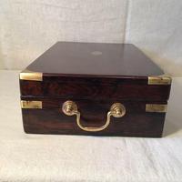 Antique Victorian Campaign Collectors Box (4 of 6)