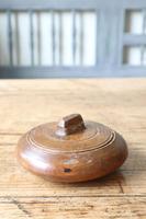 Scandinavian / Swedish 'Folk Art' wooden sliding-lid bowl 19th Century (12 of 15)