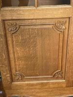 French 3 Door Oak Bookcase or Cabinet (13 of 15)