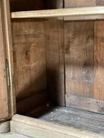 Wonderful French Empire Period Bleached Oak Linen Press (25 of 32)