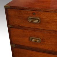 Victorian Teak Military Chest (10 of 12)