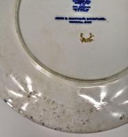 Doulton Burslem  Commemorative Plate - Whittier's Birthplace c.1895 (9 of 9)