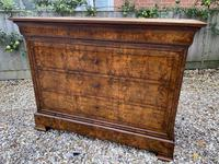 Louis Philippe Commode in Burr Walnut (2 of 7)
