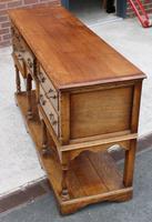 1960s Golden Oak Potboard Dresser Base - Variety of Uses (4 of 5)
