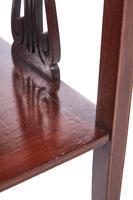 Edwardian Mahogany Inlaid Lamp Table (4 of 6)