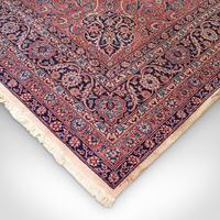 Very Large Antique Heriz Carpet, Persian, Room Size, Rug, Edwardian, Circa 1910 (8 of 12)