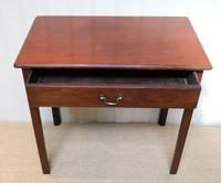 Georgian Mahogany Side Table c.1800 (3 of 9)