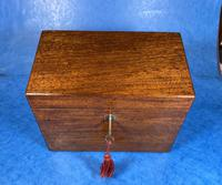 Georgian Mahogany Stationary Box (2 of 17)