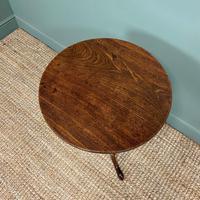 Quality Georgian Cuban Mahogany Antique Tilt Top Tripod Occasional / Lamp Table (4 of 7)