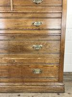 Large Antique Ash Chest of Drawers (8 of 10)