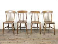Set of Four Mix & Match Farmhouse Chairs (2 of 9)