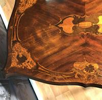 Quality Inlaid Walnut Occasional Table (15 of 18)