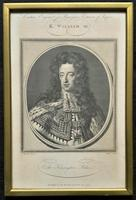 Rare Set of 12 Original 18th Century Engraving's of Kings & Queens of England (5 of 18)