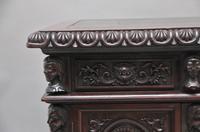 19th Century Chinese Hongmu Pedestal Desk (14 of 19)