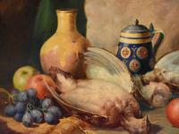 Superb still life oil painting by Richard Ansdell RA (2 of 8)