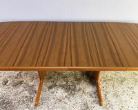 1970's Danish Long Walnut Dining Table by Skovby (7 of 7)