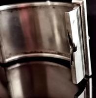 Victorian Silver Cuff Bangle, Wide, Buckle (11 of 11)