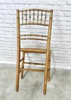 Regency Faux Bamboo Side Chair (6 of 6)