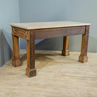 Gothic Oak Console Table (6 of 7)
