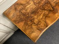 Re Finished Burr Walnut Serpentine Chest of Drawers (6 of 10)