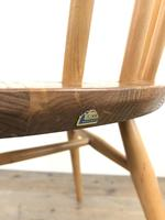 Pair of Ercol Blonde Elm Windsor Chairs (10 of 12)