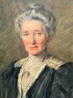 Henry Wright Kerr Exceptional Watercolour Portrait Painting (3 of 10)