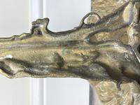 Victorian Brass Hunting Dog Fire Companion Set (36 of 40)