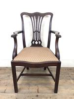 Pair of 19th Century Chippendale Style Armchairs (5 of 11)