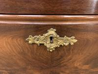 19th Century French Flame Mahogany Commode (14 of 20)