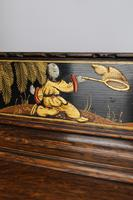Oak Chinoiserie Dressing Chest of Drawers (8 of 13)