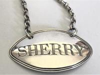 A Fine 18th Century Silver Sherry Decanter Label (3 of 4)