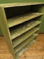 Green Rustic Painted Shelves Kitchen Storage, shabby chic Industrial Shelves (13 of 14)