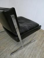 1960s Chrome & Leather Chair (9 of 12)