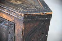 Grained Carved Rustic Hanging Cupboard (2 of 12)