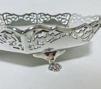 Large Antique Solid Silver Bonbon Dish (5 of 10)