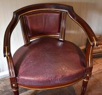 Pair of French Directoire Leather Armchairs (13 of 16)