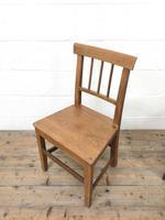 Four Similar 19th Century Stick Back Farmhouse Chairs (6 of 7)