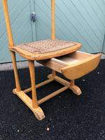 Unusual Beech Chair Valet Clothes Stand (2 of 7)