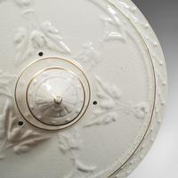 Antique Stilton Dome, English, Ceramic, Cheese Keeper, Cracker Plate, Victorian (7 of 12)