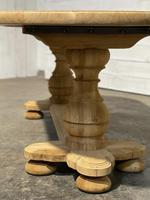 French Bleached Oak Monastery Dining Table (20 of 30)