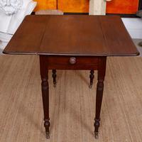 Georgian Dropleaf Pembroke Table Mahogany (5 of 12)
