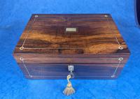 William IV Rosewood Jewellery Box (2 of 13)