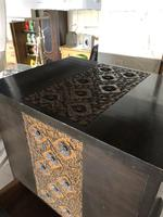 Vintage Hardwood Decorative Sewing Box Cabinet (3 of 10)